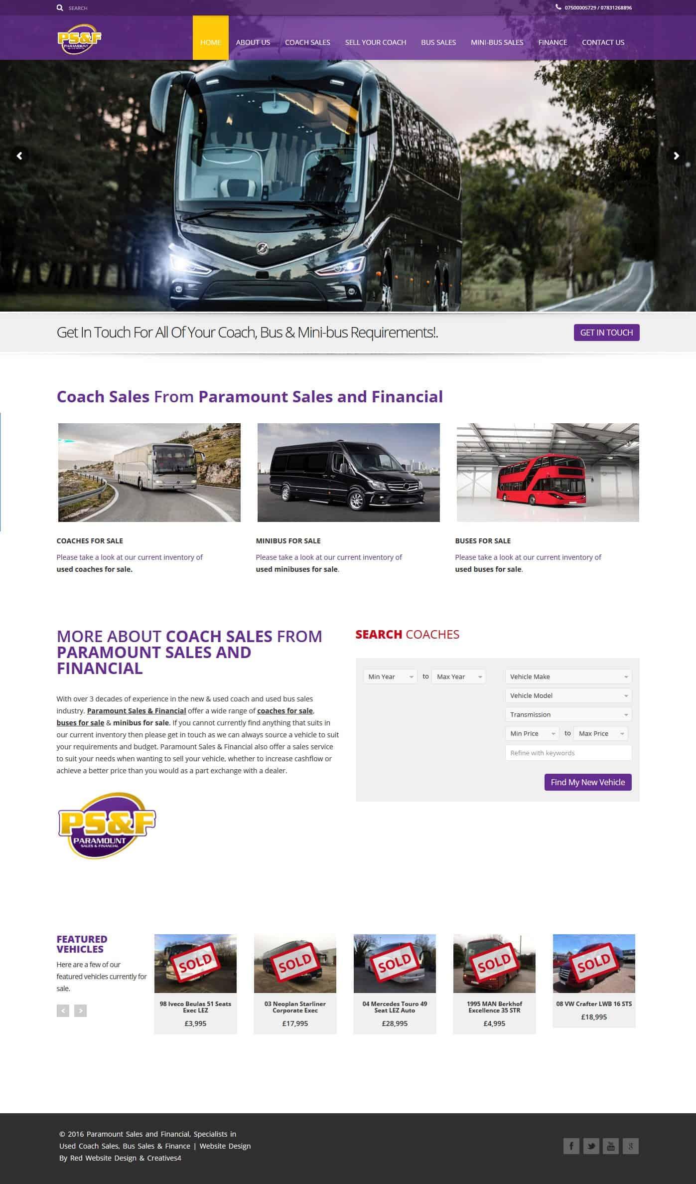 Web Design Corby