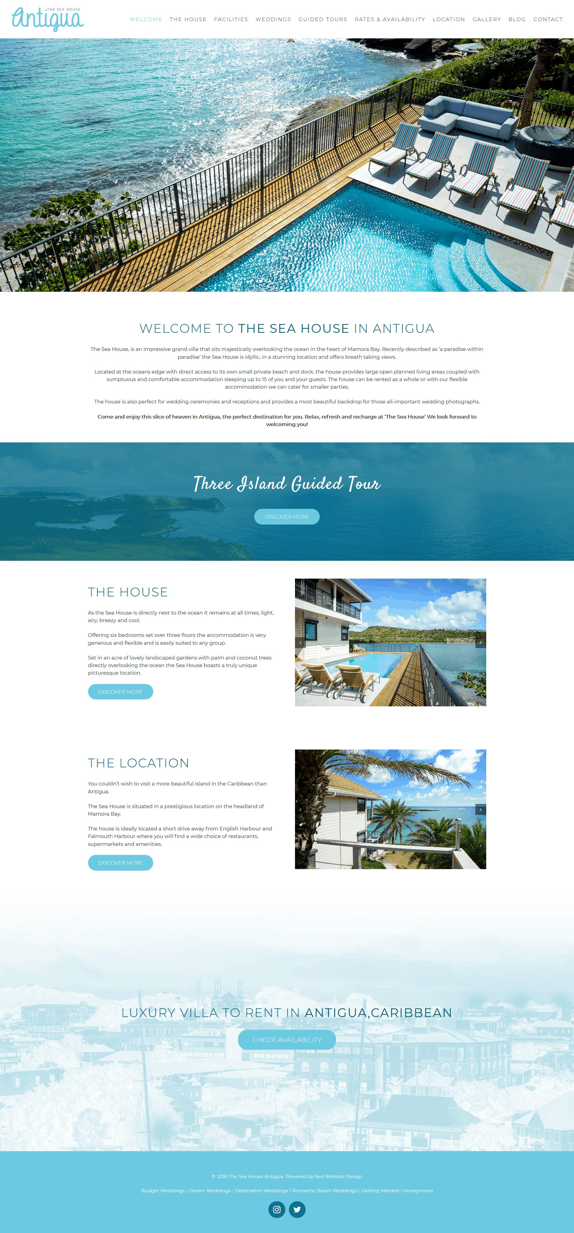 Web Design Antigua