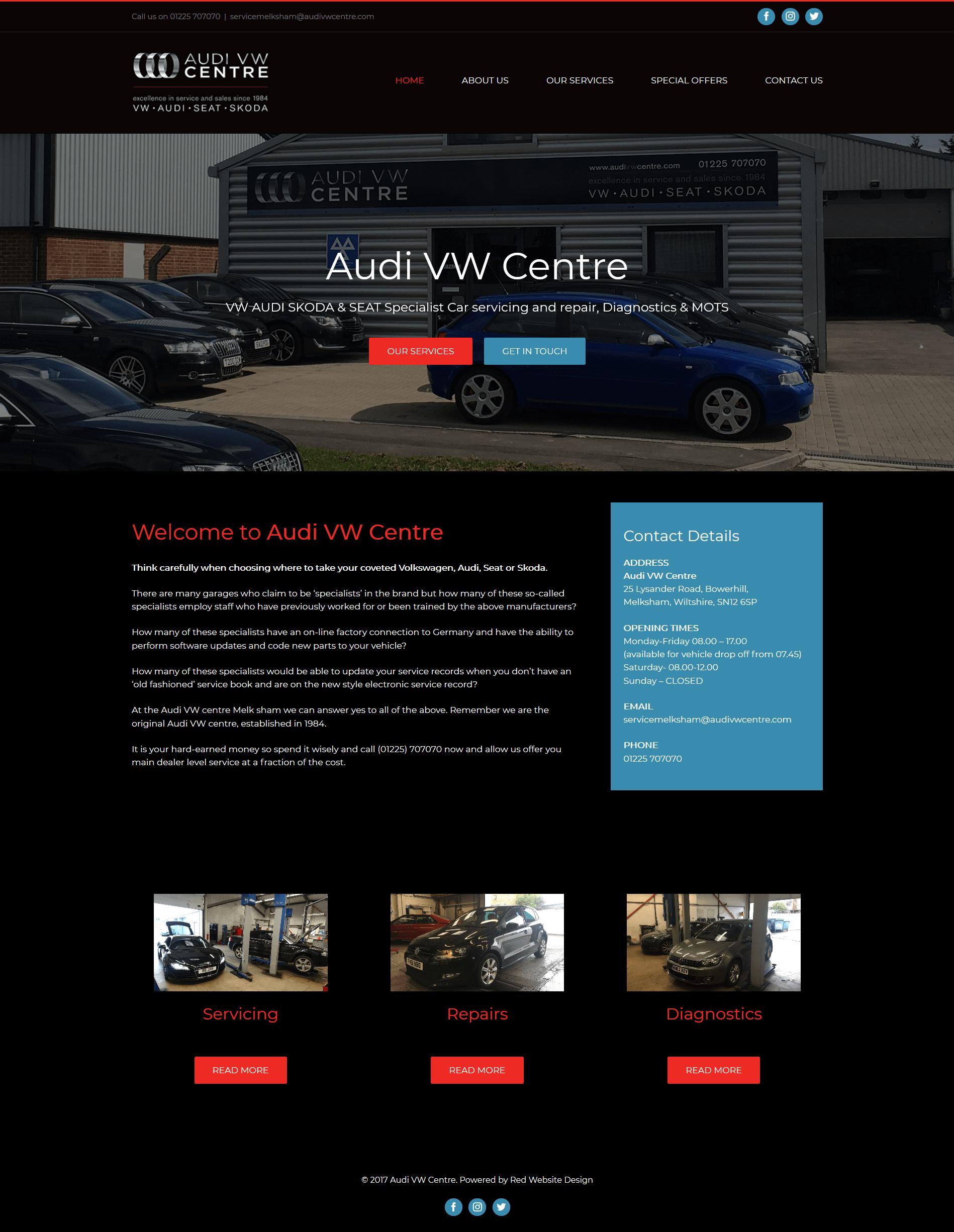 car garage website design. Black Bedroom Furniture Sets. Home Design Ideas