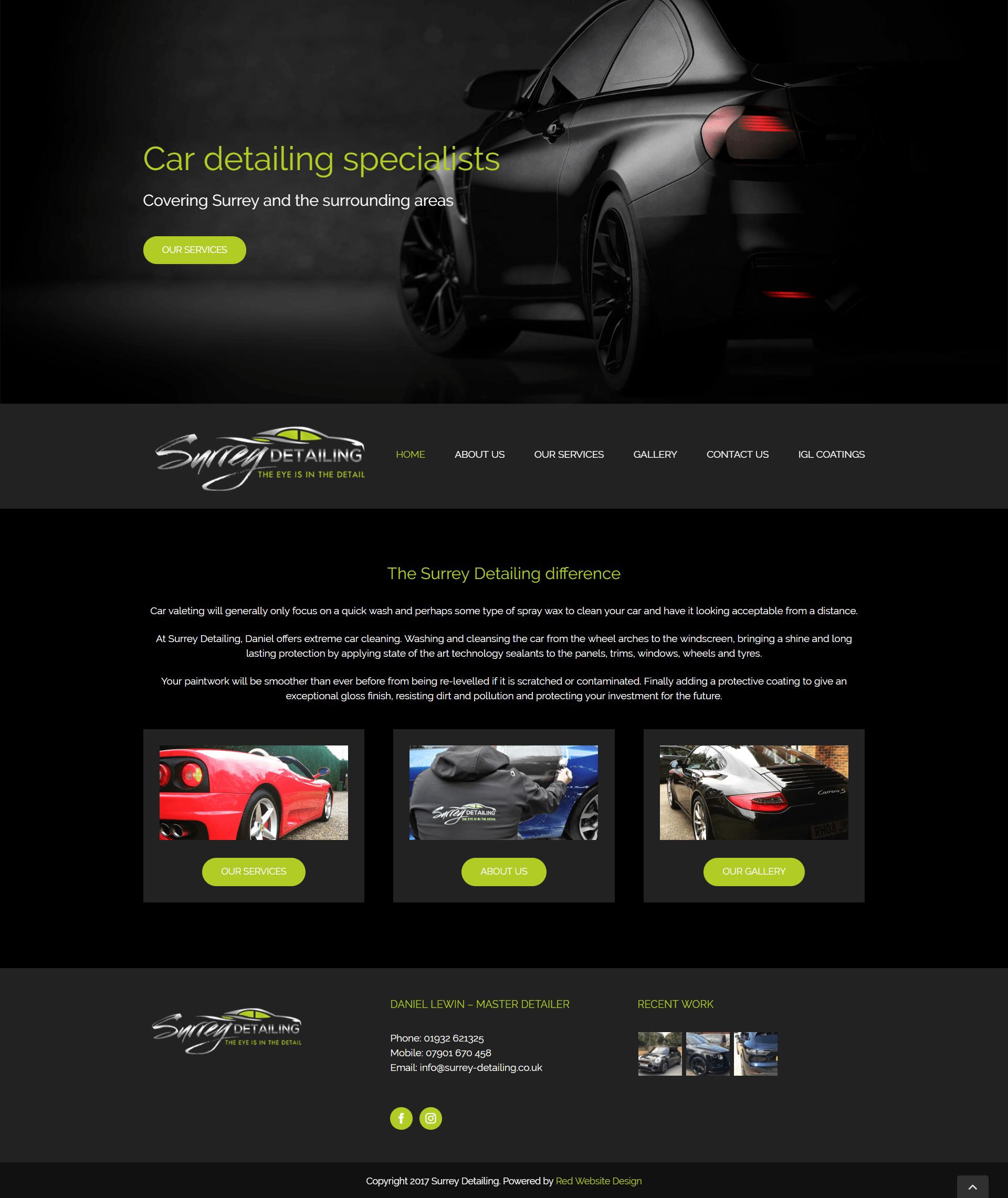 Web Design Cobham
