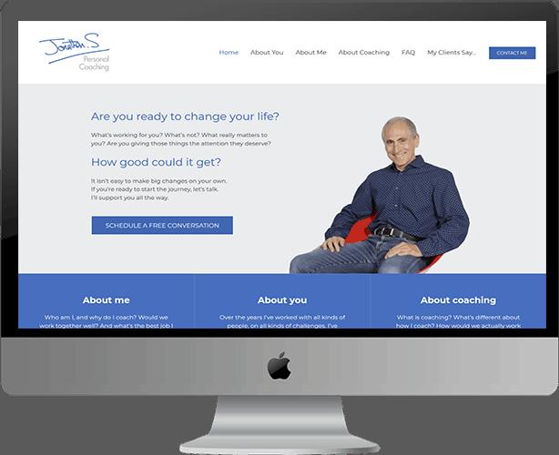 Web Design for Jonathan Stanley