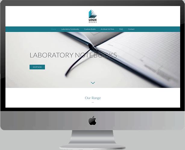 Web Design for Logix Books