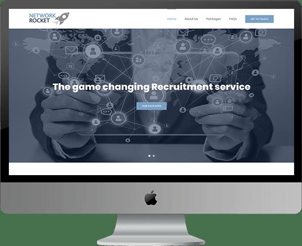 Website Design for Network Rocket