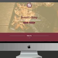 Website Design for Donald's Rump