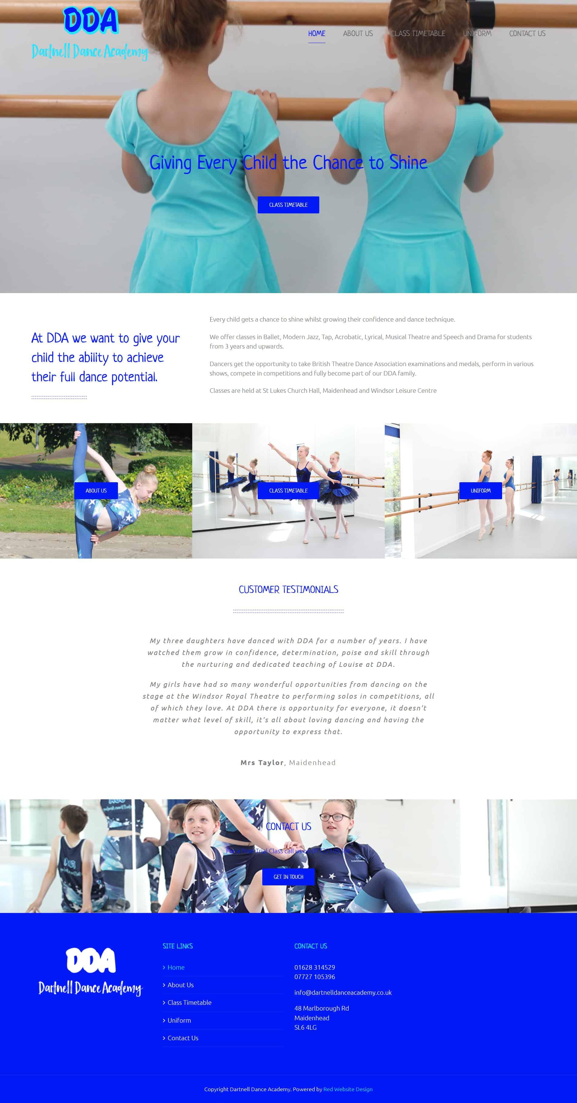 Web Design Maidenhead