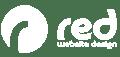 Red Website Design Logo